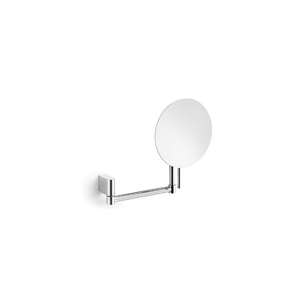Zack Atore Polished Stainless Steel Cosmetic Mirror 100 x 280 x 380mm