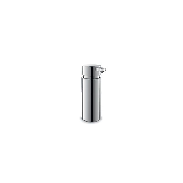 Zack Scala Polished Stainless Steel Freestanding Liquid Soap Dispenser