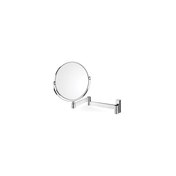 Zack Linea Polished Stainless Cosmetic Mirror 430 x 260mm