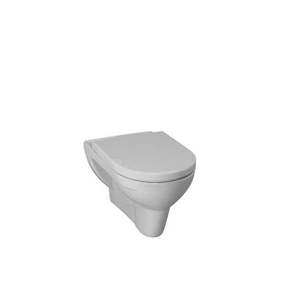 Laufen Pro White Wall Hung Toilet Excluding Seat and Cistern