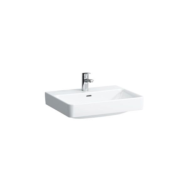 Laufen Pro S White Wall Hung Basin With Tap Hole 600 x 465 x 175mm