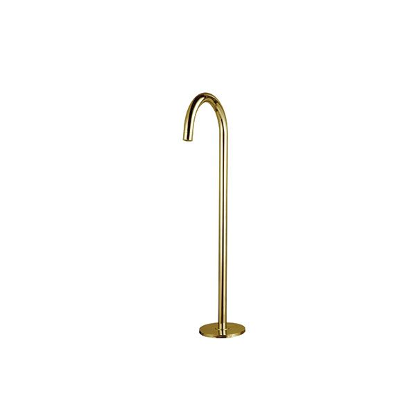 Eva Brushed Bronze Freestanding Bath Spout