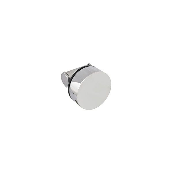 Chrome Round Nikki Bath Spout And Overflow