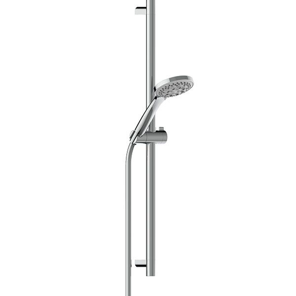 Almar Chrome Handshower 80mm And Rail Kit With Multi-function