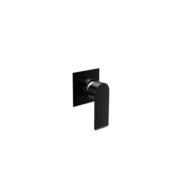 Tivoli Gadoni Matt Black Bath Or Shower Mixer Including Concealed Part