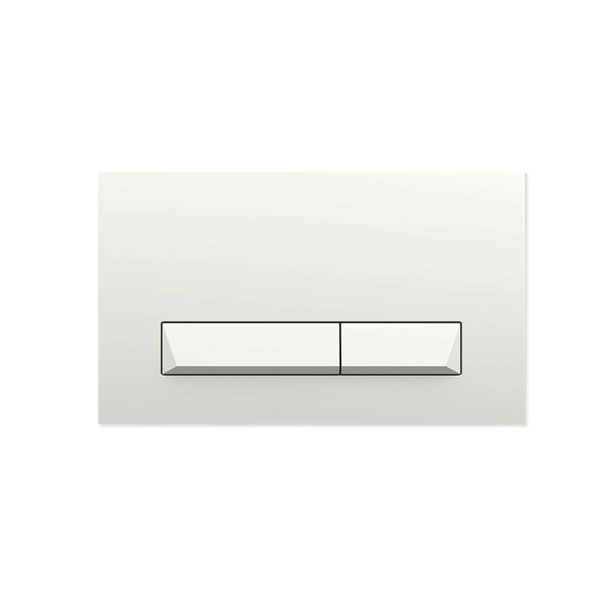 Pyramid White Flush Plate